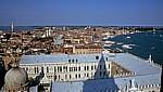 Blick vom Campanile: Dogenpalast - Venedig