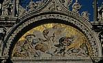 Basilica San Marco: Fassadenmosaik - Venedig