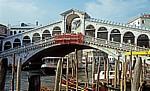 Ponte di Rialto (Rialtobrücke) - Venedig