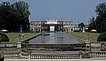 Blick aus der Villa Pisani: Park der Villa Pisani - Stra