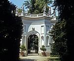 Park der Villa Pisani: Belvedere-Exedra - Stra
