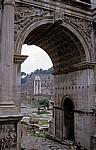 Forum Romanum: Septimius-Severus-Bogen - Rom