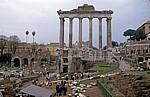 Forum Romanum: Tempel des Saturn - Rom
