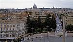 Blick über die Piazza del Popolo - Rom