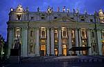 Petersdom: Hauptfassade - Vatikan