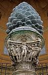 Vatikanische Museen: Cortile della Pigna - Vatikan