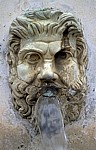 Vatikanische Museen: Brunnen (Bestandteil des Cortile della Pigna) - Vatikan