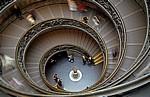 Vatikanische Museen: Spiral-Treppe - Vatikan