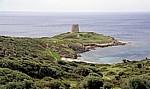 Verfallener Turm an der Küste - Costa del Sud