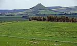 Kegelförmiger Berg Las Plássas - Barumini