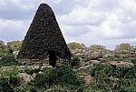 Steinhütte der Nuragher (Nachbau) - Giara di Gesturi