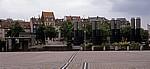 Blick vom MediaPark: Stadthäuser - Köln