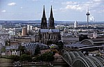 Blick vom KölnTriangle - Köln