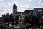 Blick auf das Altstadtufer und Groß St. Martin - Köln