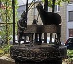 Bronzeplastik: Jupp Schmitz - Köln