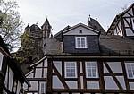 Fachwerkhäuser unterhalb des Schlosses - Braunfels