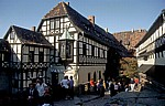 DDR: Wartburg - Burghof - Eisenach