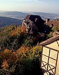 DDR: Blick auf einen Teil der Wartburg - Eisenach