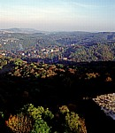DDR: Blick von der Wartburg - Eisenach - Eisenach