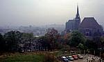 DDR: Blick auf die Stadt - Erfurt