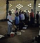 Schulklasse während des Unterrichts - Provinz Manica
