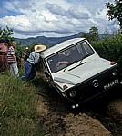 Schlechte Piste - da bleibt man leicht mal stecken! - Provinz Manica