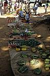 Bazar 25 de Julho: Gemüsestand - Chimoio