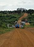 Brücke auf dem Weg von Chimoi nach Sussundenga - Provinz Manica