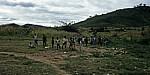 Schulkinder auf der Chamba der Schule - Manica