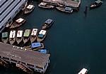 Seilbahn Mount Faber - Sentosa Island: Boote im Singapore Cruise Centre - Singapur