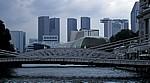 Cavenagh Brücke - Singapur
