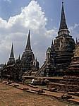 Geschichtspark Ayutthaya: Wat Phra Si Sanphet - Ayutthaya