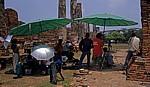 Geschichtspark Ayutthaya: Photoshooting - Tänzer - Ayutthaya