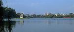 Hoan Kiem-See mit der Schildkrötenpagode - Hanoi