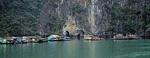 Schwimmendes Dorf - Halong Bay