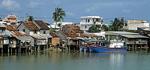 Häuser am Cai-Fluß - Nha Trang