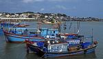 Boote auf dem Cai-Fluß - Nha Trang