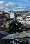 Blick vom Dreams Hotel auf die Nachbarhäuser - Da Lat