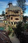 Crazy House (Spinnweben-Haus): Hang Nga Guesthouse & Art Gallery - Neubau eines Nebengebäudes - Da Lat