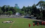 Blick aus dem Wiedervereinigungspalast (Hoi truong Thong Nhat) - Saigon