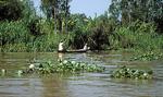 Boote sind die gängigen Verkehrsmittel - Mekong-Delta