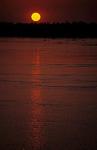 Sonnenuntergang am Mekong - Kratie