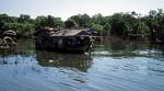 Schwimmende Häuser in der Mündung des Siem Reap-Flusses - Tonle Sap
