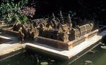 Miniaturnachbildung von Banteay Srei - Siem Reap