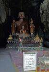 Buddhastatuen in einer Höhle - Vang Vieng