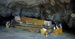 Liegender Buddha in einer Höhle - Vang Vieng