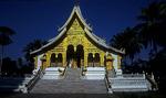 Pha Bang Tempel im Park des Königspalastes - Luang Prabang