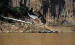 Tham Thing-Höhle am Mekong - Pak Ou