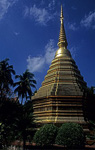 Wat Phra Kaeo: Chedi - Chiang Rai