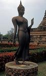 Geschichtspark Sukhothai: Wat Sra Si - Buddha - Sukhothai